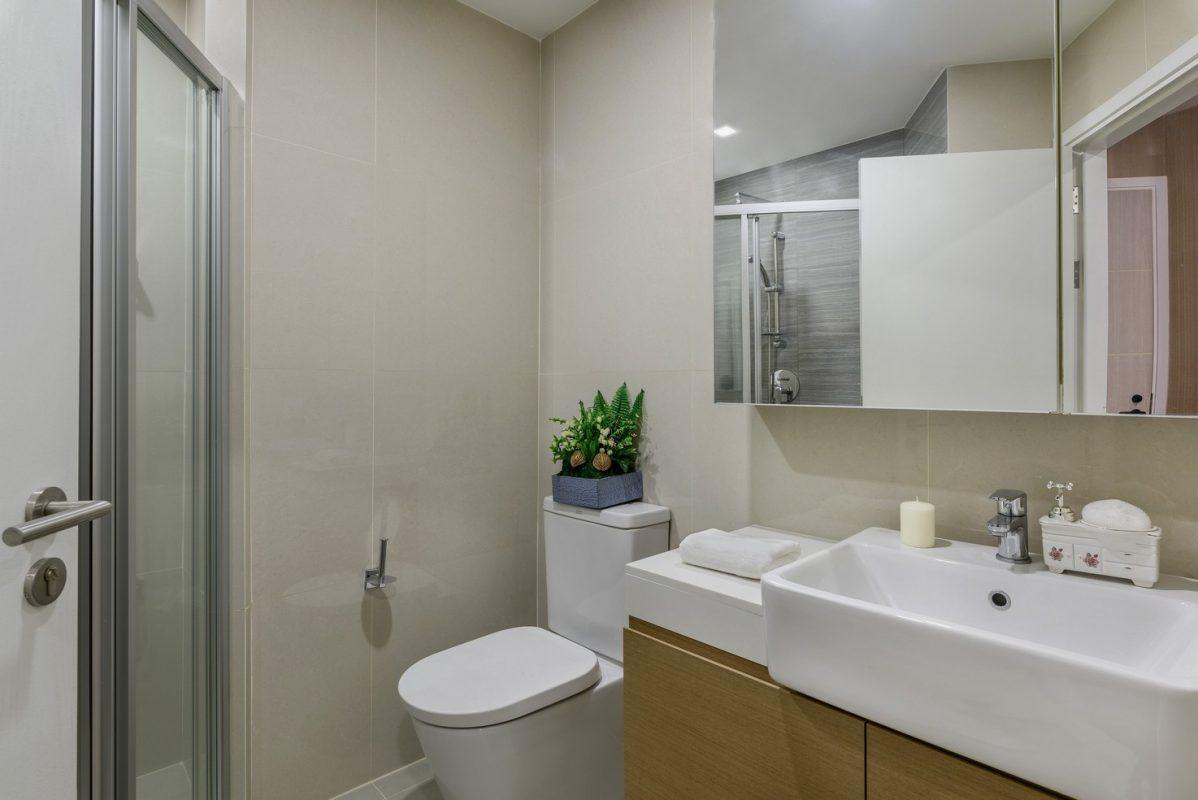 คอนโดศรีราชา ห้องน้ำ