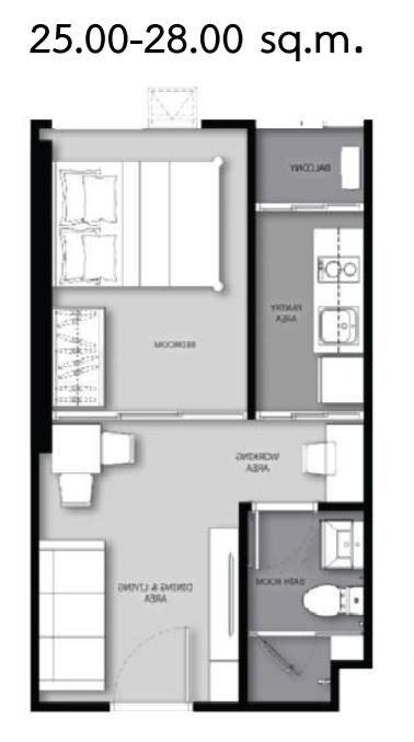 25-28 sq.m.