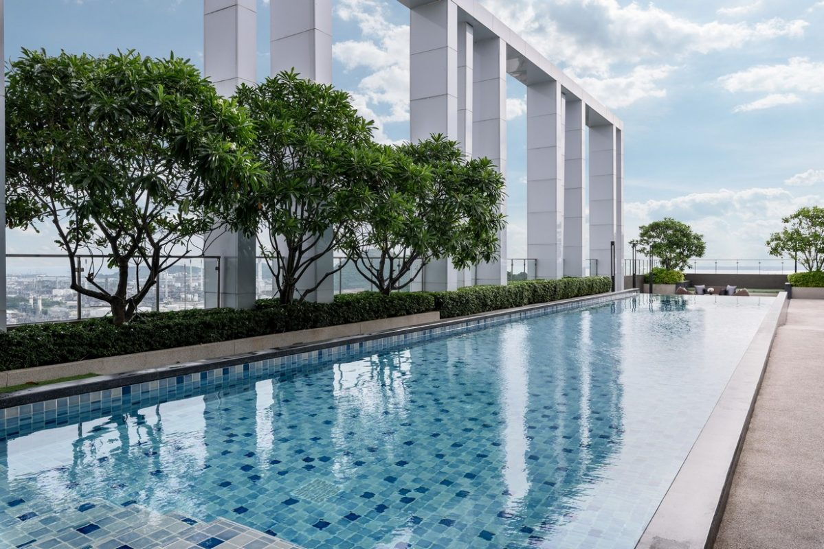 Notting Hill Laem Chabang - Rooftop Swimming Pool