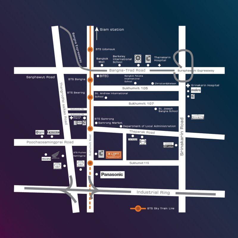 B-Loft Lite SKV115 Map