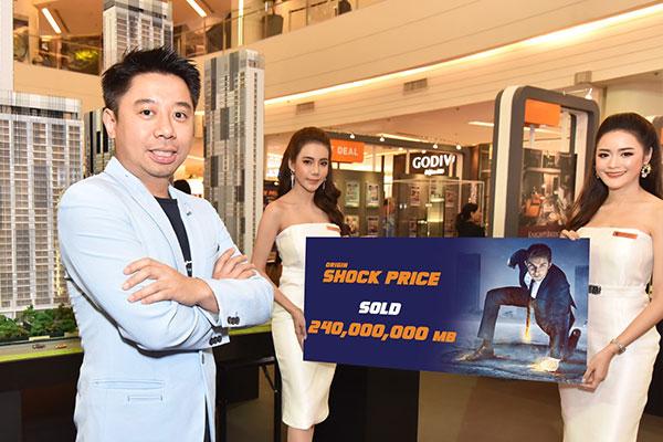 ออริจิ้น กวาดยอดขาย ในงาน Origin Shock Price
