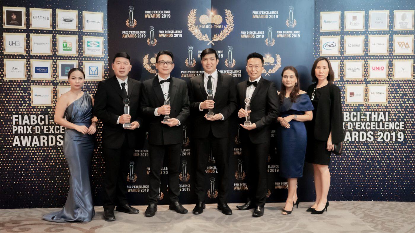 ออริจิ้น คว้า 4 รางวัล FIABCI - Thai Prix D' Excellence Awards 2019