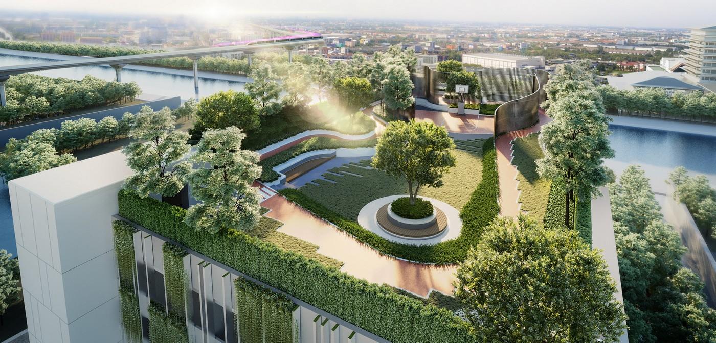 คอนโดราม Rooftop playground