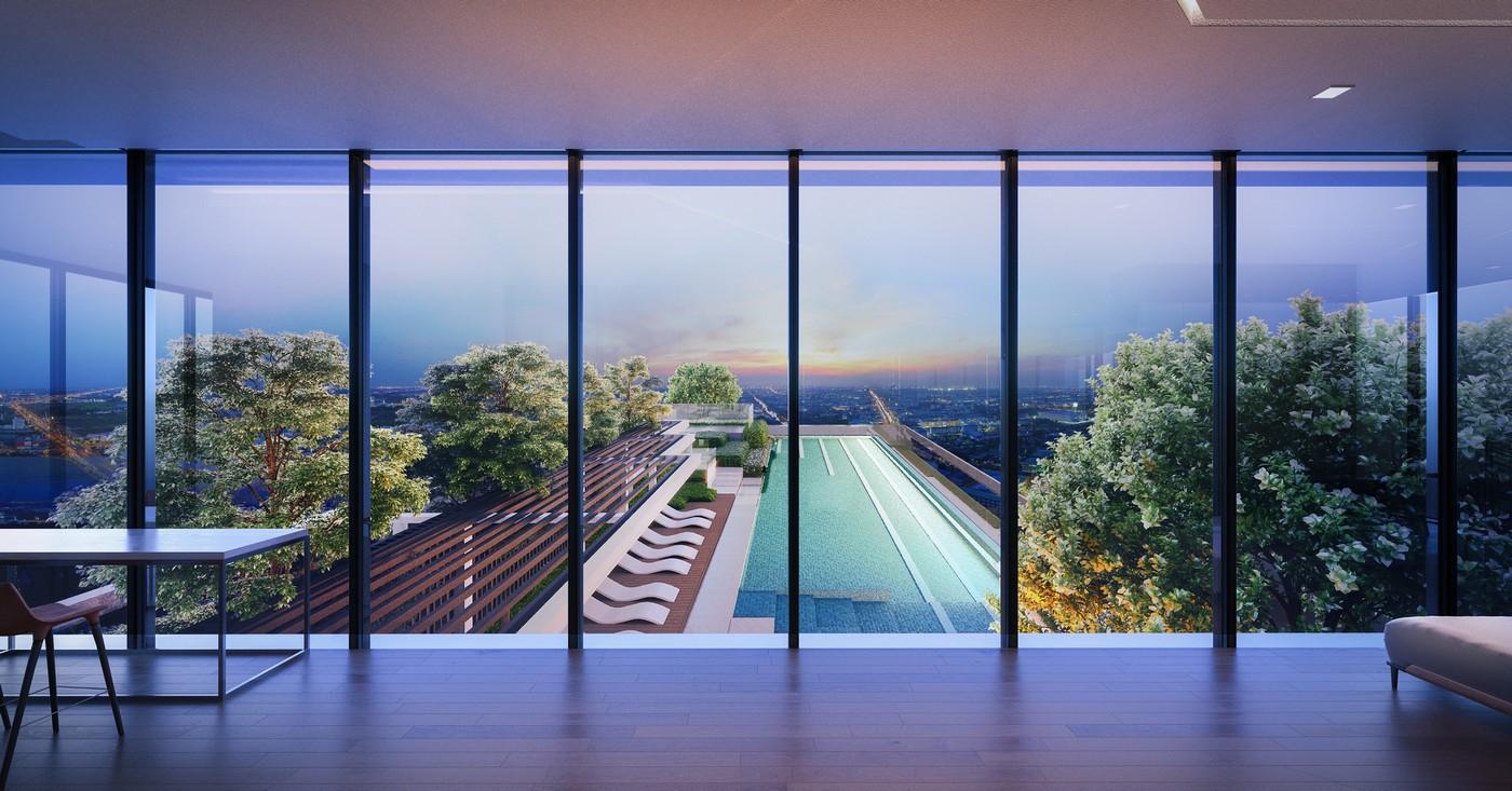 คอนโดราม View swimming pool