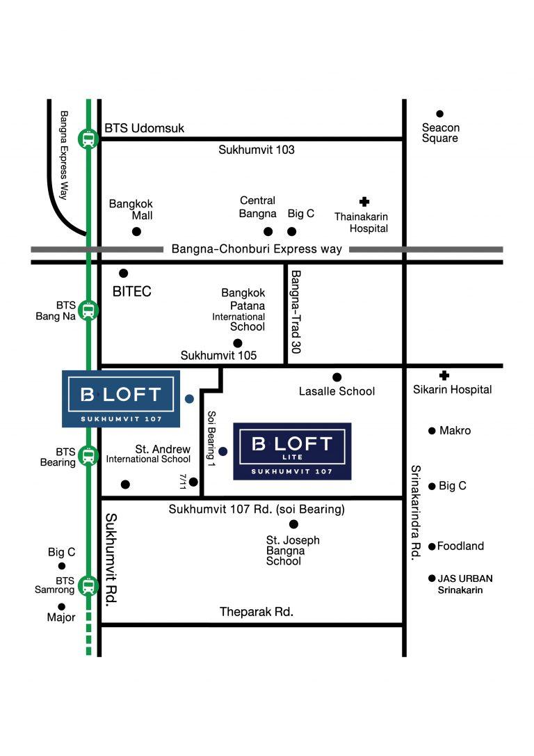 Map B Loft 107