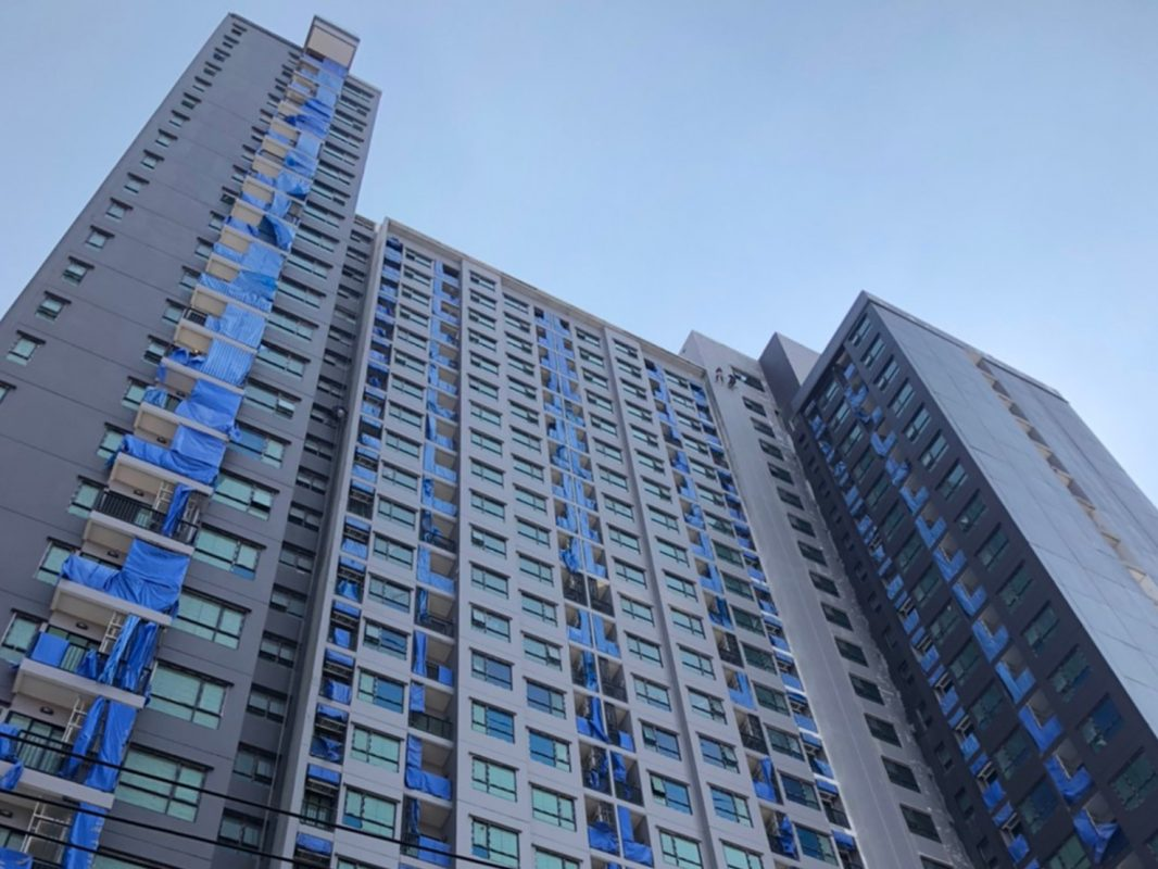 ความคืบหน้าโครงการ Knightsbridge Collage Ramkhamhaeng