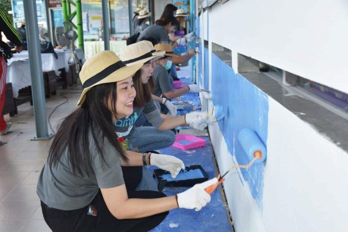 กิจกรรม ออริจิ้นฯ สานฝันพัฒนาโรงเรียนเพื่อน้อง ครั้งที่ 5