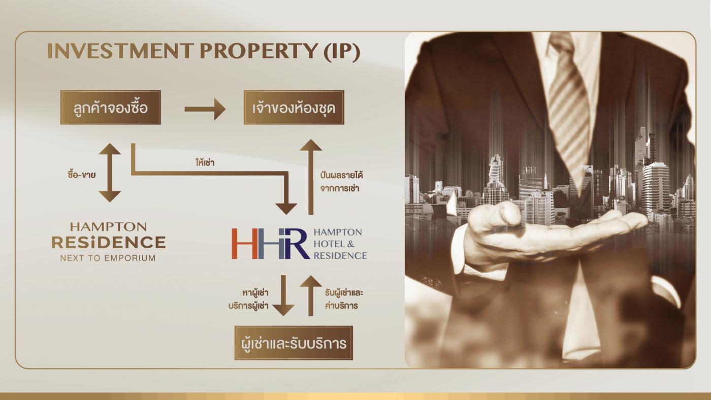 Invesment Property Hampton Residence Bangkok